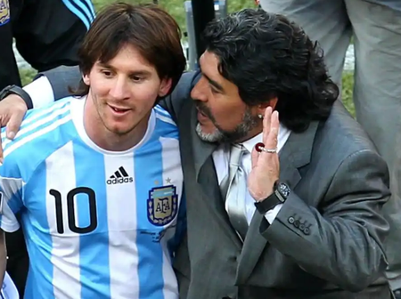 Meet the Only Footballer Who Played Against Both Maradona and Messi