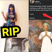 The Nollywood Actress That Died Yesterday, Read Her Last Post About Christ On Easter Sunday (Photos)