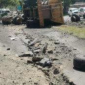 Truck Driver's Brakes Fail on William Nicol – Three Injured