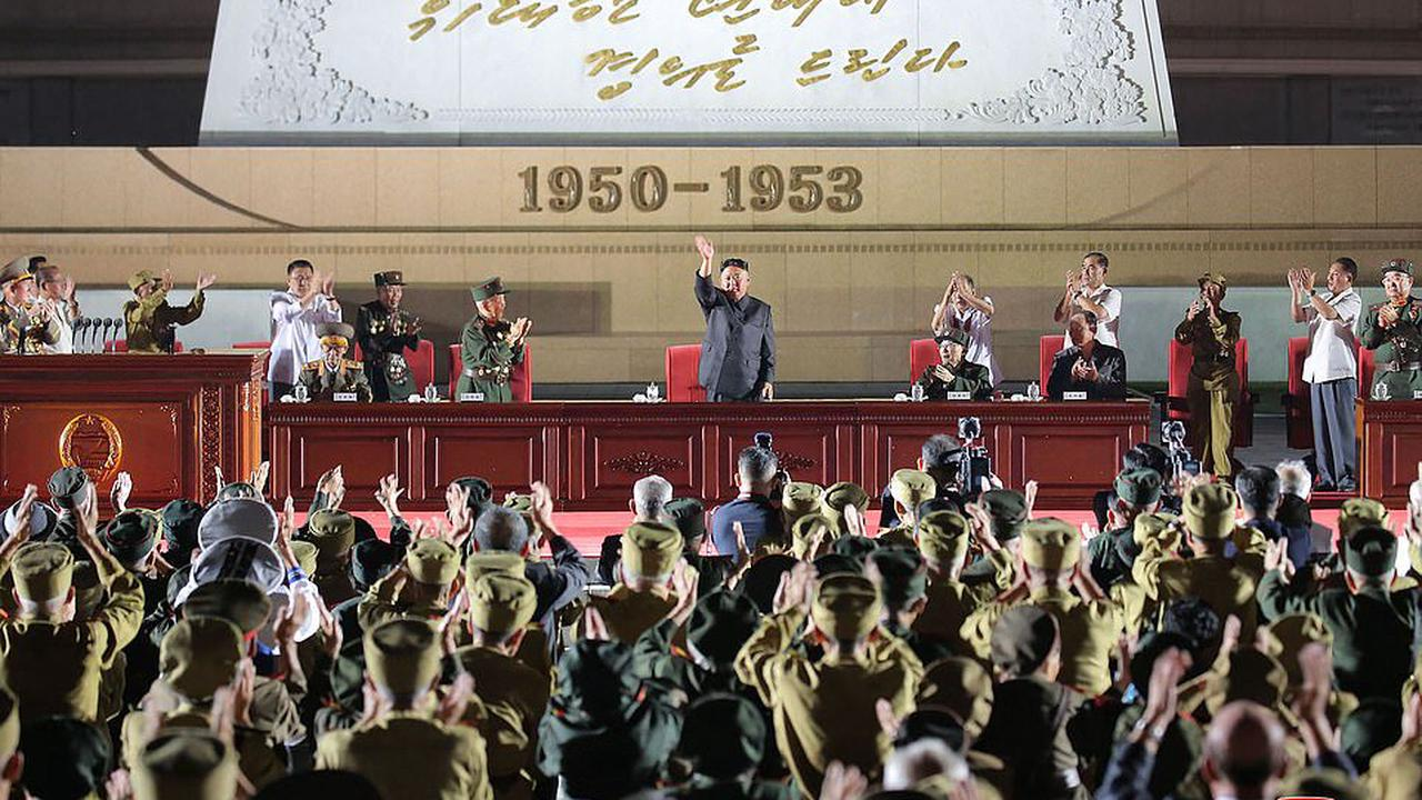 Good Korea move:Kim Jong Un marks 68th anniversary of Korean War as North and South reopen communications and pledge to improve ties
