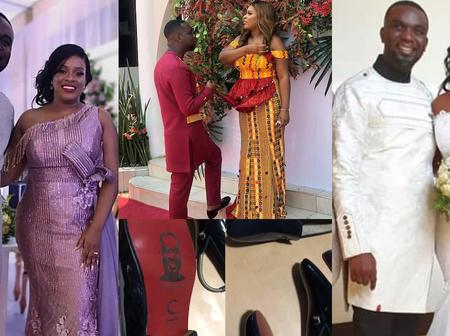 Check Out Five Celebrities Who Married In 2020 (Photos)