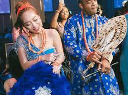 Love Is Truly Awesome, See Pictures Of Chinese That Married Nigerians