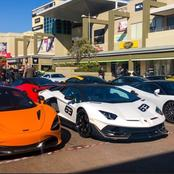 Cool cars that were spotted on the streets of South Africa.