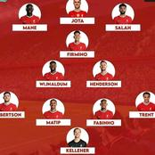 Liverpool confirmed squad for Chelsea clash