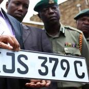 Amount of Cash You Will be Fined if Arrested With These Types of Number Plates
