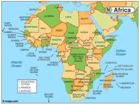 Five Strongest African currencies
