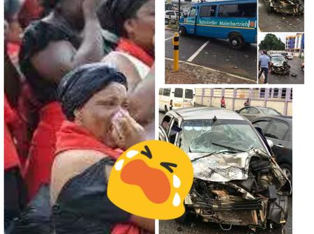Sad News As Young Man, Nana and 7 Others Involved In A Fatal Accident