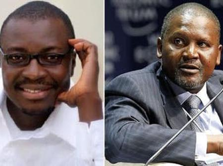 Don't buy shares in Arsenal now, Ali Baba cautions Aliko Dangote
