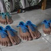 Check Out Nigerians' Reactions As Human-Like Shoes Appear Online