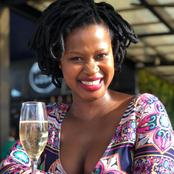 Zenande Mfenyane is having a tough time parenting, and took time to applaud all single mothers.