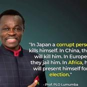 Professor Lumumba's quote about corruption in Africa is breaking the internet in Ghana