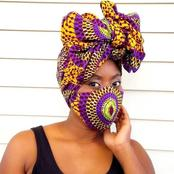 Show Off with These Beautiful Gele Styles And Ankara Dress Combination