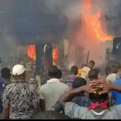 Today's News: Shops Burnt As Fire Guts Onitsha Market, Hundreds of APC Members Defect To PDP