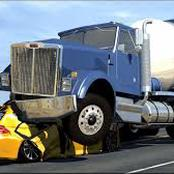 Truck driver arrested after crashing several cars on the robot