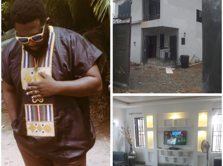 Reactions As A Man Posts Photos Of His New House Online