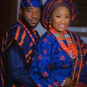 African Traditional Wedding Aso-Oke For Lovely Couples