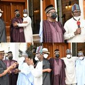 Checkout More Photos That Prove Gov Ortom and Gov Mohammed Truly Settled Their Conflict Today in PH