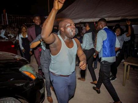 Igbo philanthropist goes 'crazy' in a praise and worship night