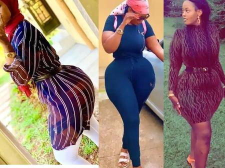 Check Out 20 Hot Pictures Of Hanlah Shamim Who Is One Of The Most Endowed Ladies.