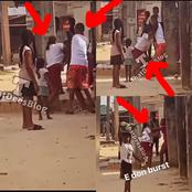 See Video Of 2 Girls Spotted Fighting Dirty Over Boyfriend In Broad Daylight (Watch Video)