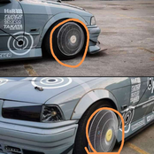 Look at the home made rims that got the whole social media looking. Stunned. Photos|Opinions
