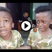 Who Committed The Offence Between These Two Identical Twins? See How Their Dad Settled The Case