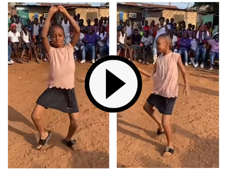 Video: Check Out The Incredible Dance Steps Of This Small Girl That Got The Crowd Cheering Loudly