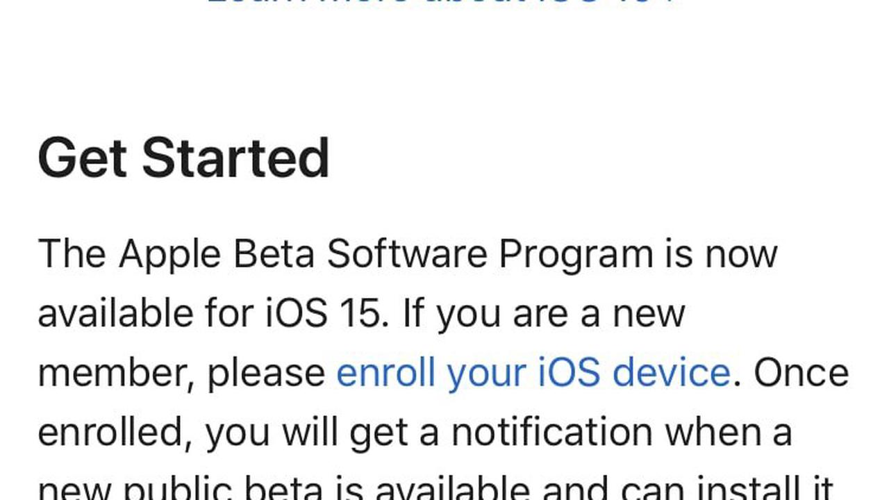 How to install iOS 15 and iPadOS 15 Public beta on your iPhone or iPad