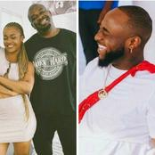See How Davido Reacted After Don Jazzy Shared New Photos With The First Lady Of 'DMW', Liya