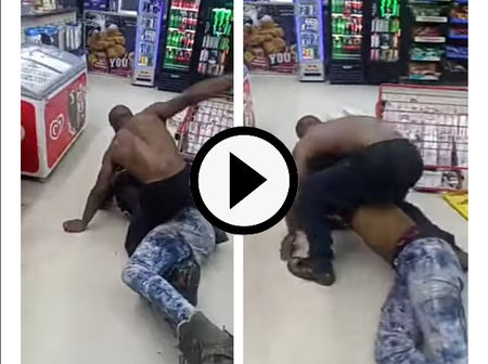 Video: A Man Shamelessly Fought A Gay Man In A Store Until The Gay Man Begs Him To Stop