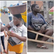Man Happily Proposes To Mary The Lagos Amputee Table Water Hawker Few Hours She Received Millions of Naira (Video)