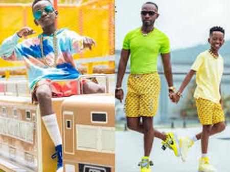 See adorable pictures of Okyeame Kwame's baby boy and his father