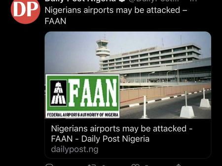 Airports In Nigeria May Be Attacked - Report