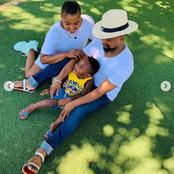 Former Uzalo actress enjoys a play date with her family.