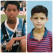 Throwback Pictures Of Cristiano Ronaldo And Twelve Other Football Stars