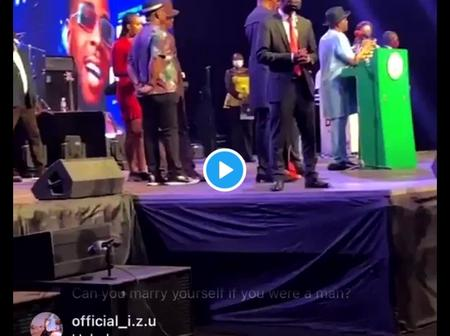 (Video) - See What Governor Wike Said He Will Give Burna Boy & All Other Performing Artistes.