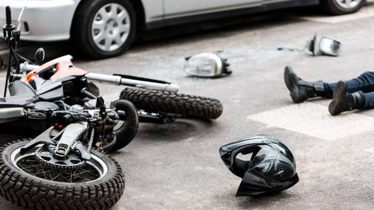 Schwaz: Motorrad-PKW Kollison