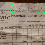 Applicants reveal an NIMC staff is allegedly selling NIN enrollment form for N500 in Benue