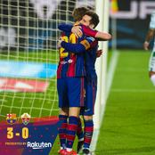 Barcelona's Fans React To Player's Display Against Elche