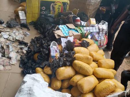 Police Raid Notorious Hideout Of Illicit Drugs Cartel In Abeokuta, Ogun State