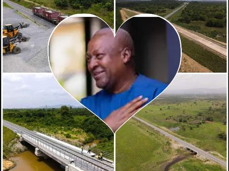 Photos: Another Project Of Mahama Accomplished By Nana Addo