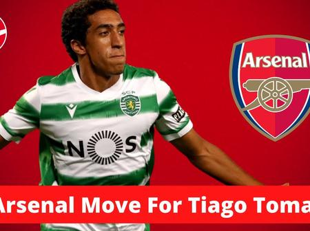 Arsenal Agree Transfer Deal With a Portuguese Striker