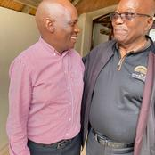 Nkandla : Check Out Who Came To Visit ex-President Jacob Zuma