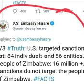 'Bad news from Americans to all Zimbabweans' - OPINION