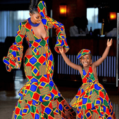 50 Fabulous Ankara Designs For Mother and Daughter