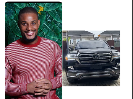 Actor Alex Ekubo acquires SUV