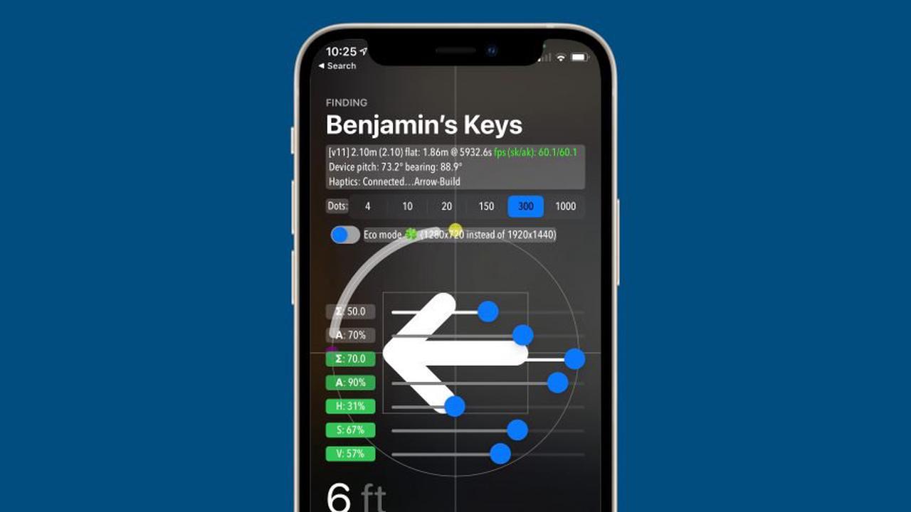 Hidden debug mode for AirTags found in iOS 14.5