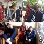 Spiritualist storm Abuja court in solidarity with Sowore (photos)