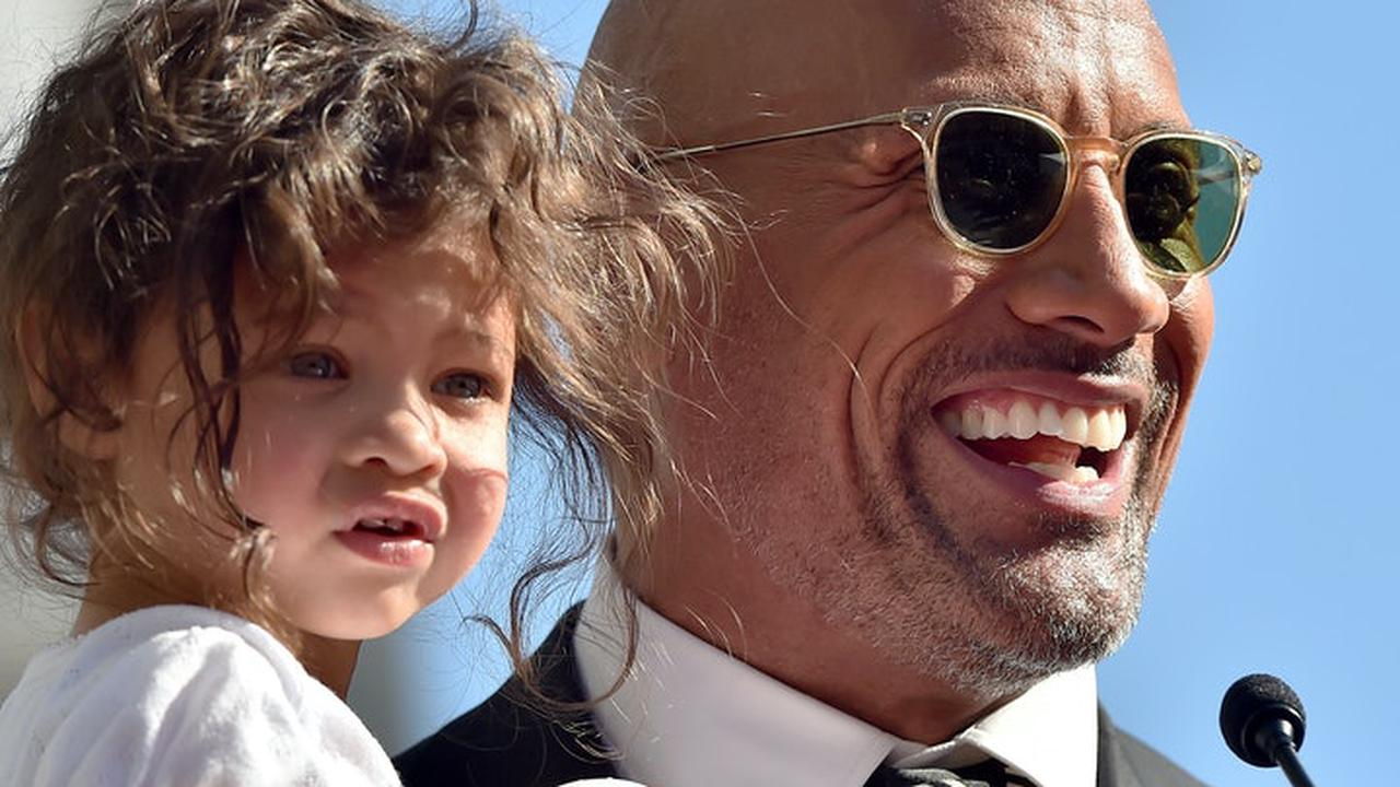 """Dwayne """"The Rock"""" Johnson Was Every Parent Playing Barbie With His Toddler"""