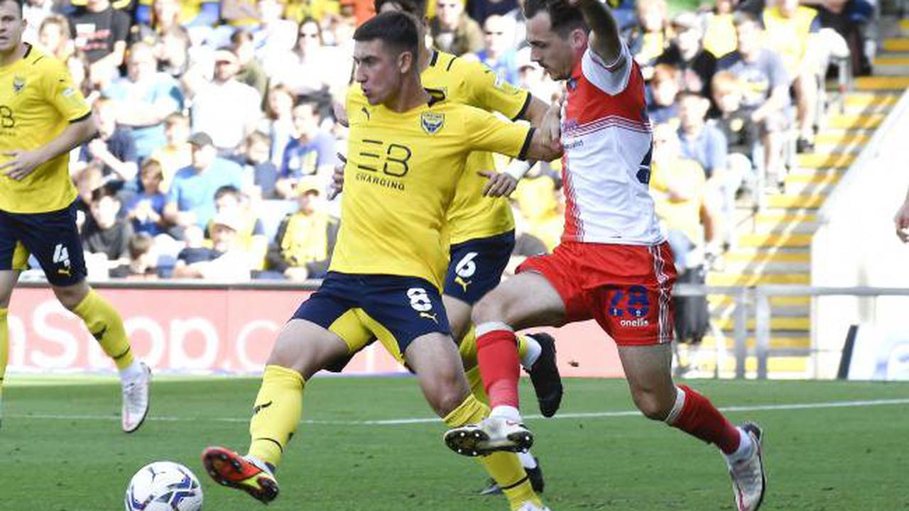 Four Oxford United players back training + good news for Jamie Hanson